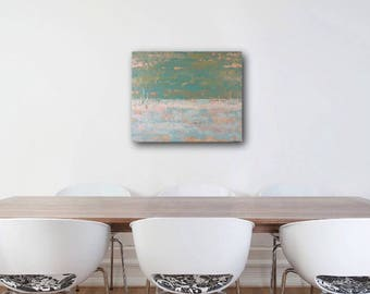 Original Fine Art Acrylic Abstract Painting Wall Art 16 x 20 inches Canvas board Home Decor