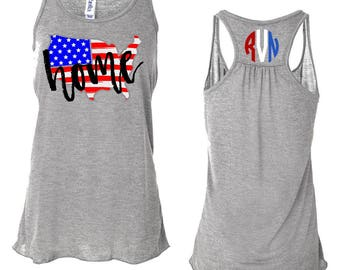 American Flag Tank, Fourth Of July Flag Tank, 4th of July Tank Top, Fourth of July, 4th Of July, Patriotic Tank, 4th of July Shirt, American
