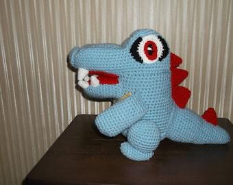 Crochet Totodile Pokemon Amigurumi