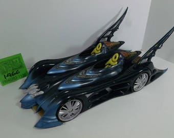 1990's Ideal BatMobile/BatCycle Recalled Toy