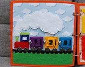 PATTERN & TUTORIAL Quiet book page - Train