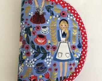 Alice in Wonderland Needlebook