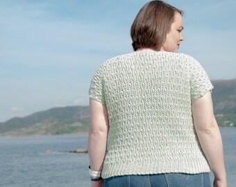 CROCHET PATTERN - Solis Top Crochet Pattern - PDF Crochet Pattern