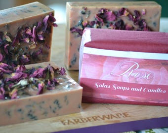 Rose Vegan Soap