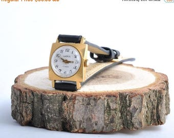 "ON SALE Soviet watch ""Seagull"",Russian watch, Elegant watch ,gold plated watch, Vintage Watch ,Womens watch, Mechanical watch"