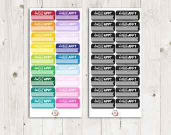 Dentist Appointment Stickers - ECLP Sticker