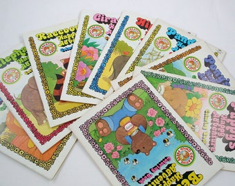 Vintage Creative Child Press Coloring Books - Happy Adventures
