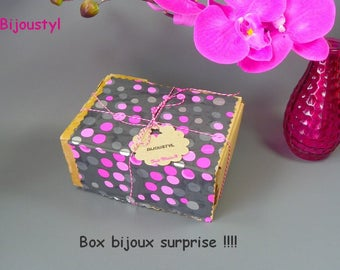 Surprise jewelry box! Jewelry and accessories Bijoustyl! Six month subscription