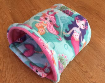 Mermaids piggy pocket cozy