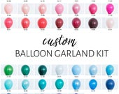 Custom DIY Balloon Garland Kit - You Pick the Colors!