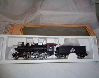 IHC 2-6-0 Mogul steam loco Chicago Northwestern used