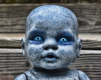Olwen (OOAK horror doll)