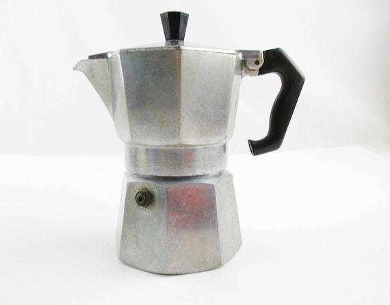 Retro 1940s Stovetop Espresso Maker Zanzibar
