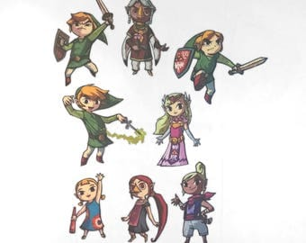 Legend of Zelda: WindWaker Iron-On Patches - Limited Stock