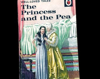 The Princess and the Pea book, 1967 edition, vintage books, fairytales, children's books