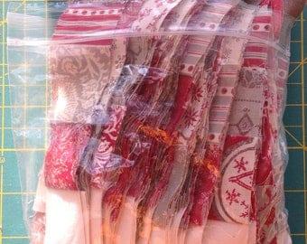Moda Christmas Joyeaux Noel Scrap Bag Quilt Scraps
