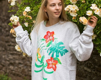 Hand Painted Fight for Peace Charity Sweater