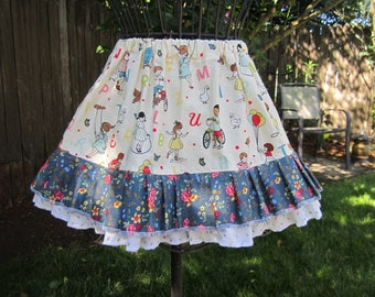 ABC Kids Floral Fun Twirling Skirt Size 3-4-5