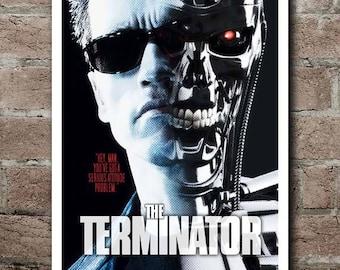 THE TERMINATOR: Movie Quote Poster