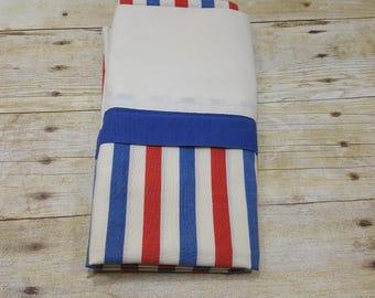 Vintage King Size Pillowcase, 1970s READ DESCRIPTIONS