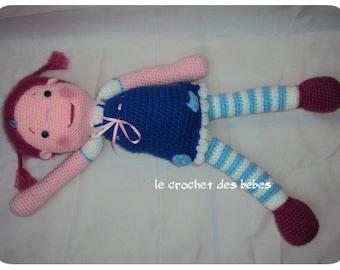 """Doll crochet """"Natalie"""""""