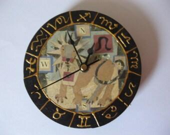 Leo Horoscope Clock