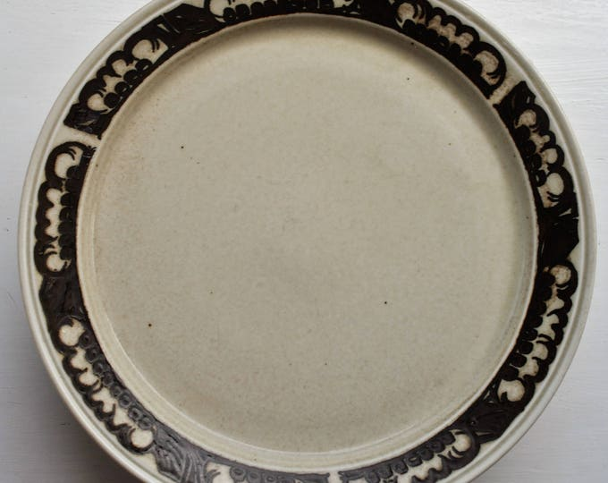 Porsgrund Norway Troll Dinner Plates Set of 5 Mid Century Modern 1970s Stoneware