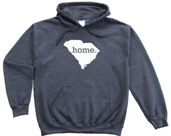 Homeland Tees South Carolina Home Pullover Hoodie Sweatshirt