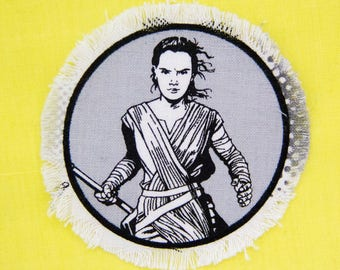 Iron On Rey Patch