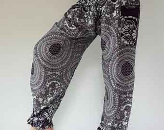 SM0053 Genie Pants Comfy Trouser, Gypsy Pants Rayon Pants,Aladdin Pants Maxi Pants Boho Pants