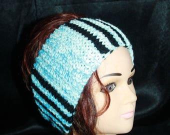 wool, wide headband