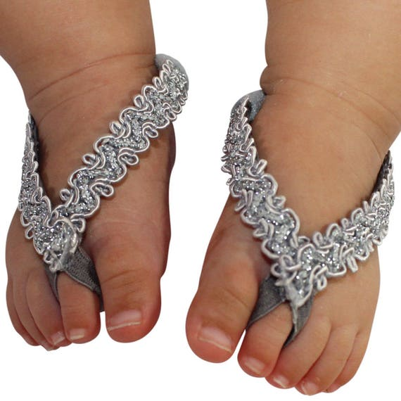 Baby Barefoot Sandals, Barefoot Sandals, Sandals For Babies, Toddler Sandals, Crib Shoes, Silver Sandals, Wedding Sandals