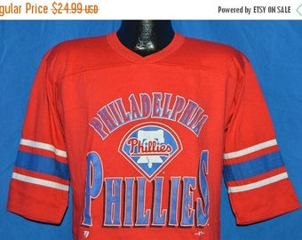 ON SALE 90s Philadelphia Phillies Jersey t-shirt Youth Large