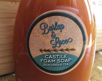 Zen Green Tea Castile Foam Soap