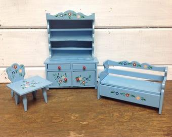 Vintage Doll furniture Set - Barbie Size