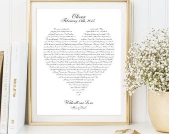 Personalized Baby Name Birth Stats Print, Any Nursery Rhyme Poetry lyrics print, Kids Song sign Song Wall Art Gift Baby Shower DIGITAL FILES