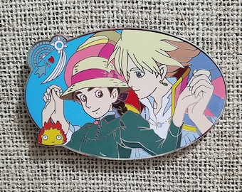 Howl and sophie howls moving castle pin