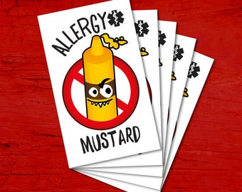 Tattoos for children allergic to MUSTARD.