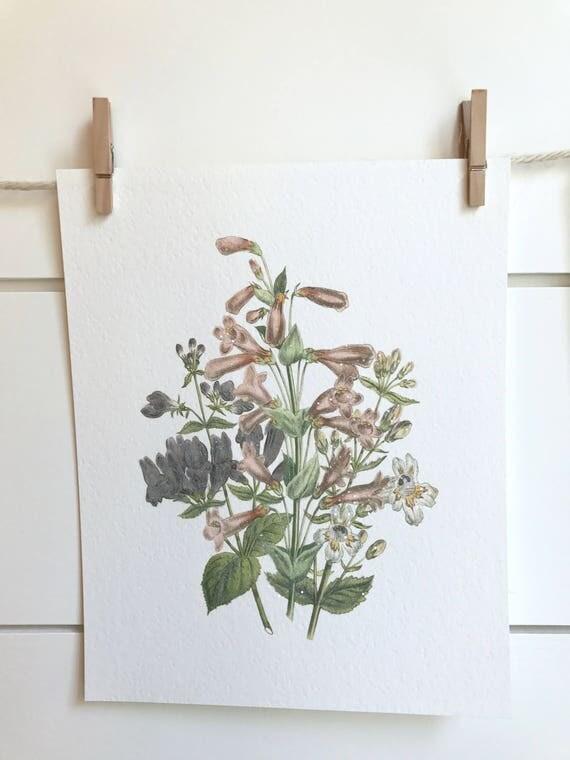 Floral Print #457