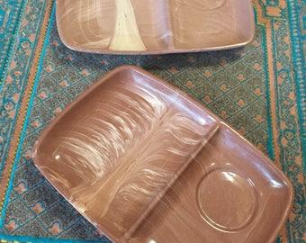 Desert Rose Terracota plates