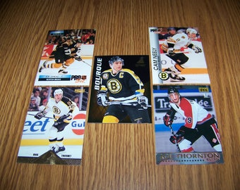 25 Boston Bruins Hockey Cards