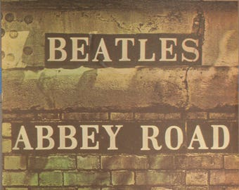 """1969 Sheet Music, """"Because"""" From the Beatles' """"Abbey Road"""""""