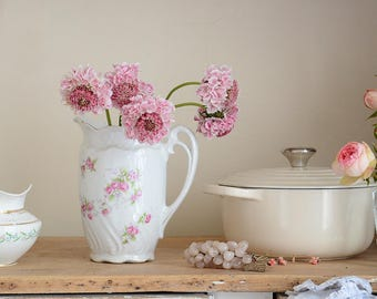 Shabby Perfect Vintage French Pitcher
