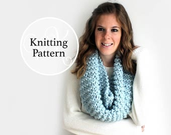 Knitting Pattern Potomac Cowl Instant Download