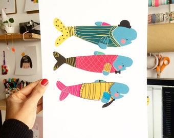 "Print ""fishy cold"""