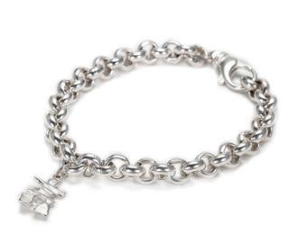 Inukshuk Charm Bracelet