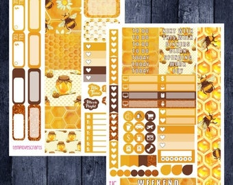 Weekend Sale Busy Bee Kit for Personal Planner