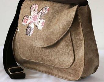 Handbag farmhouse style faux leather bag