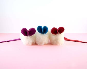 3 Pack Catnip Mini Mouse, Multi Pack Cat Toys, Cute Cat Toys Gift Pack, Cat Toy Set, Kitten Toys, Real Natural Sheepskin
