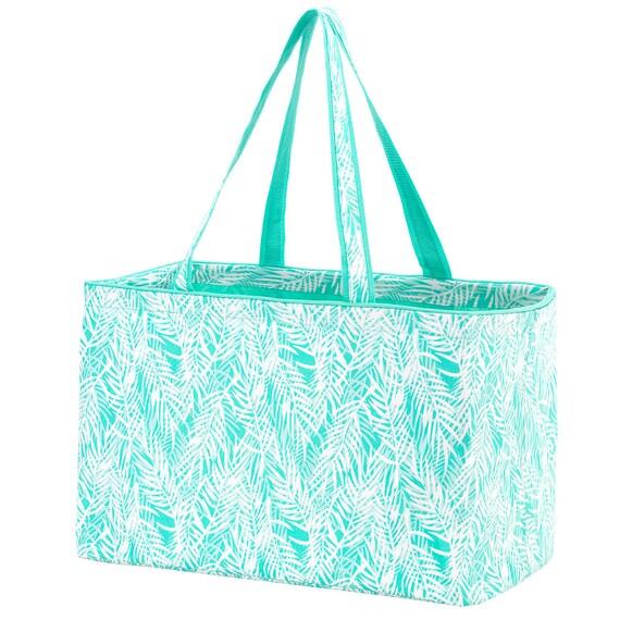poolside palm Ultimate tote bag navy blue oversized bag monogrammed tote bag beach bag pool bag summer bag monogrammed gift